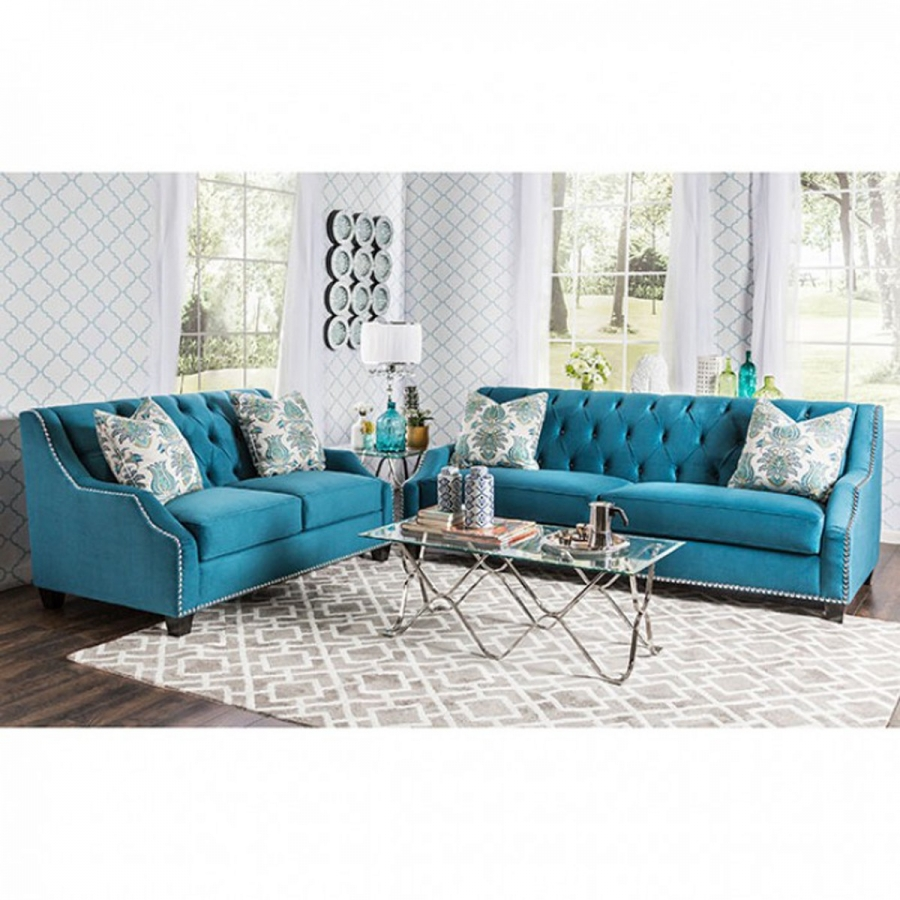 Brand New Turquoise Sofa Loveseat Set Los Angeles Armenian Jobs Apartments