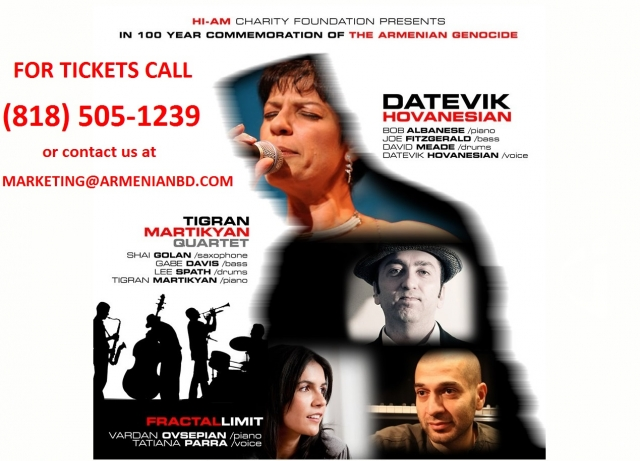 Hi-AM Charity foundation presents 100 year commemoration of Armenian Genocide