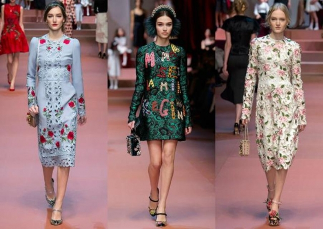Dolce&Gabbana Women's Fashion Show