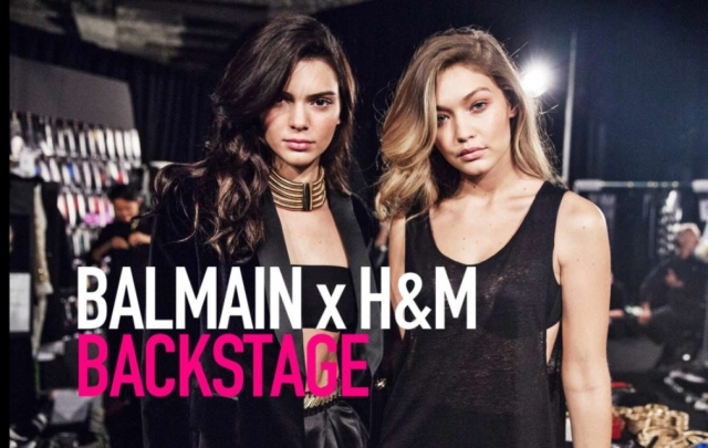 Balmain x H&M Fashion Runway Show
