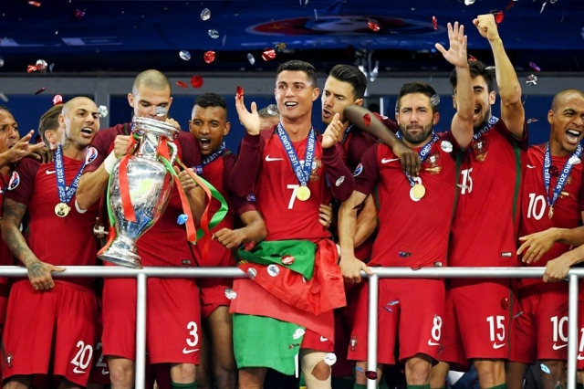 Portugal Champion d'Europe