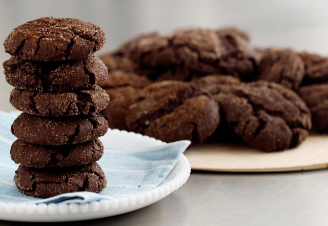 Spiced Hot Chocolate Cookies