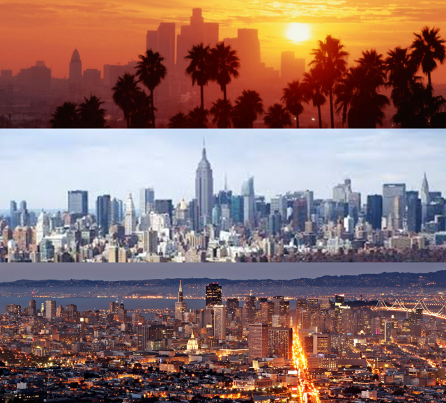 Dating new york vs los angeles