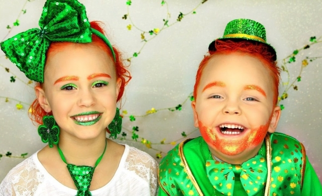 St Patricks Day Leprechaun Costume Tutorial