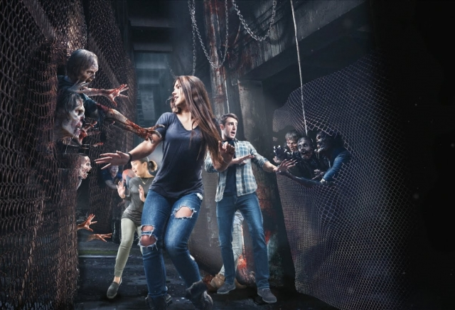 NEW! The Walking Dead Attraction FULL Walk-through - Universal Studios Hollywood