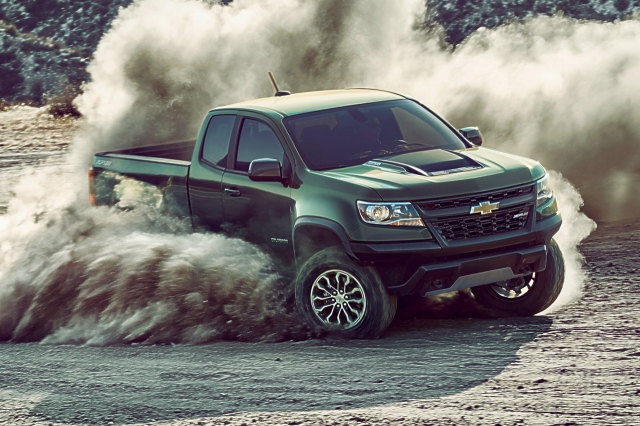 2017 Chevy Colorado ZR2 Agility Demo