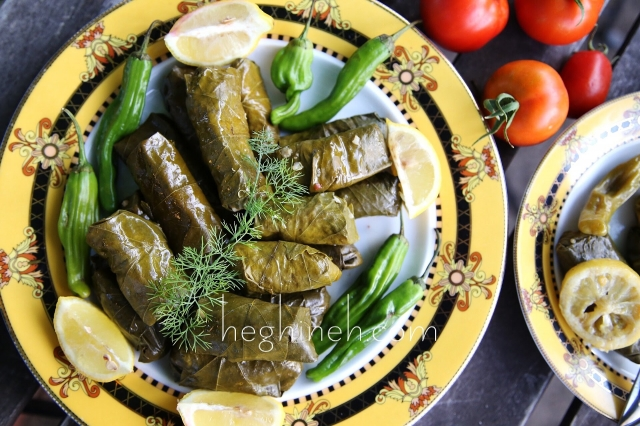 Armenian Dish Tolma Recipe - Armenian Cuisine - Heghineh Cooking Show