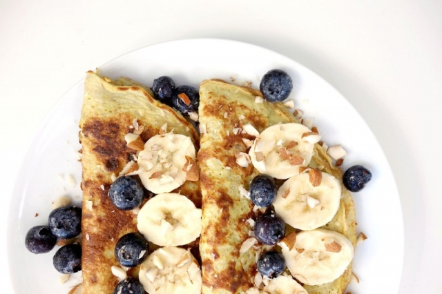 Easy Banana Pancakes Recipe - 2-Ingredients & Grain-Free!
