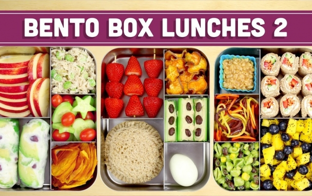 Bento Box Lunches | Healthy Recipes! - Mind over Munch