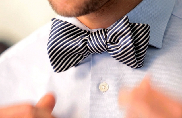 How to Tie a Bow Tie | Men's Fashion