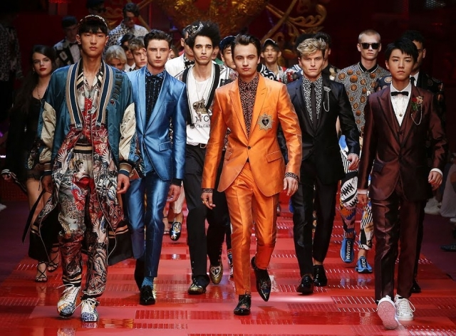 Dolce&Gabbana Spring Summer 2018 Men's Fashion Show