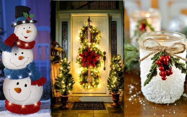 DIY ROOM DECOR! 24 Easy Crafts Ideas for Christmas - Christmas Decorations