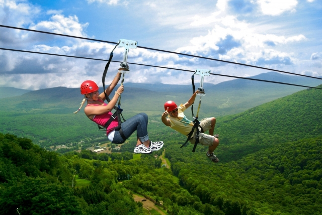 Canyon Flyer Guided Zipline Tour Gold Coast