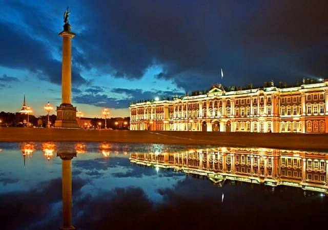 The State Hermitage Museum , St-Petersburg, Russia