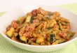 One Pot Pasta with Sausage & Zucchini